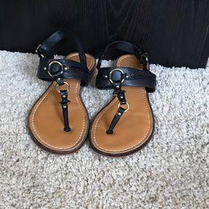 Aldo T strap sling back sandals size 8.5